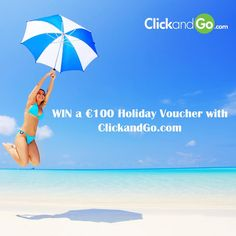Win a ClickandGo voucher to use on your next holiday. Best of luck to everyone who enters.