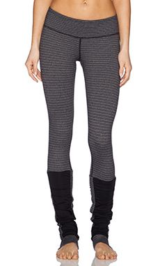 Need for Barre! Vimmia Dotty Stirrup Pant in Black