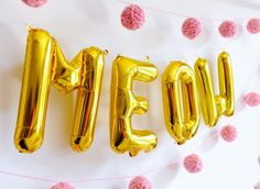Project Nursery - Kitten Party Ballon Decor and like OMG! get some yourself some pawtastic adorable cat apparel! Little Girl Birthday, Cat Birthday, Birthday Party Themes, Birthday Ideas, Pusheen Birthday, Frozen Birthday, Kitten Party, Cat Party, Cat Themed Parties