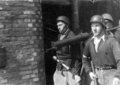 The Warsaw uprising in photos Warsaw Ghetto Uprising, Home Guard, Red Army, World History, World War Two, Ww2, Poland, Tweed, Military