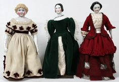 emma clear dolls | EMMA CLEAR CHINA DOLL & ANOTHER CHINA DOLL : Lot 41279