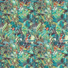 Tissu Jungle Beat - Matthew Williamson