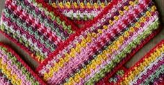 Introducing the Brilliantmommy Uniquely South African Happy Scarf! It's made from natural yarns like cotton and/or bamboo and whatever else I can lay my hand. Yarns, Bamboo, African, Blanket, Crochet, Natural, Happy, Cotton, Ganchillo