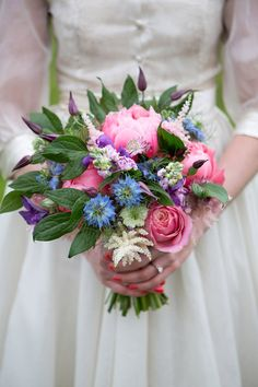 Image by Lily And Frank. Wedding bouquet. pink bouquet