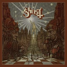 Ghost are back with a preview of their still-distant fourth album as well as a quartet of expertly curated cover songs. Here is our 8/10 review