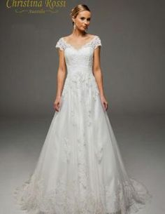 Christina Rossi 4181 Rustic Wedding, One Shoulder Wedding Dress, Bridal, Wedding Dresses, Fashion, Bridal Dresses, Moda, Bridal Gowns, Bride