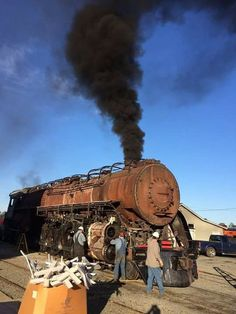 N&W Class J 4-8-4 # 611 is finally refired after a rebuild at the North Carolina Transportation Museum's Spencer Shops!!!