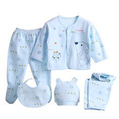 >> Click to Buy << Newborn Baby Girl Clothes Brand Baby Boy/Girl Clothes Cartoon Underwear 5 Pieces/set #Affiliate