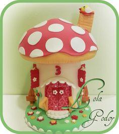 REDECORATE CON LOLA GODOY: BOTE REDECORADO COMO SETA CASITA EN ARCILLA. CASET... Christmas Bowl, Christmas Ornaments, Clay Fairy House, Diy And Crafts, Arts And Crafts, Mushroom House, Clay Fairies, Bowl Fillers, Fimo Clay