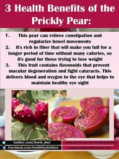3 Health Benefits Of The Prickly Pear