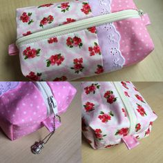 A personal favourite from my Etsy shop https://www.etsy.com/uk/listing/288776961/pink-patchwork-lace-boxed-pouch-small