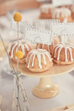 Bundt cakes.  I have the pans for these!!!