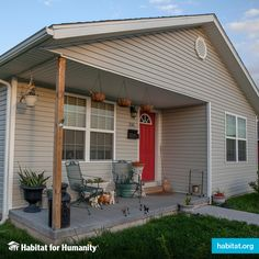 Habitat is a top 20 homebuilder in the United States? We build decent and affordable homes, like this home in Joplin, Missouri. Joplin Missouri, Habitat For Humanity, Affordable Housing, Home Repair, Habitats, Building A House, Restoration, Around The Worlds, United States