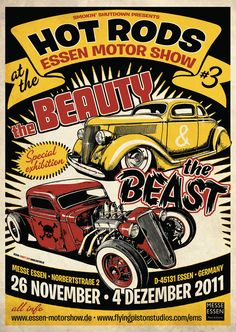 hot rod beauty beast