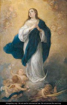 La Inmaculada Concepción by: Bartolome Esteban Murillo