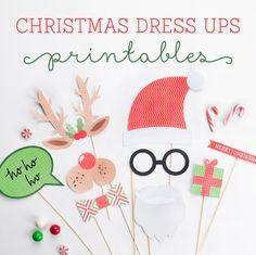 Free Christmas Dress Ups Printables ~ Tinyme