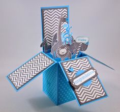 Snippets By Design: Baby Boy Card-in-a-Box