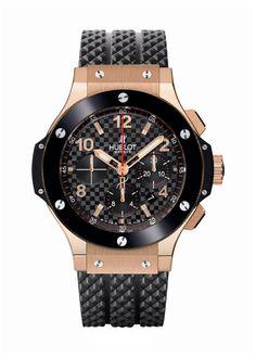 Big Bang Gold Ceramic 44mm Chronograph watch from Hublot