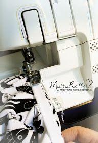 Mutturalla: Ohjetta pääntien huolitteluun Sewing Lessons, Sewing Hacks, Sewing Tutorials, Sewing Projects, Janome, Espresso Machine, Handicraft, Knitting, How To Make