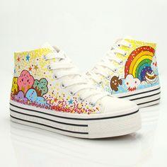 907ab84d0b0a Cute sweet stars rainbow shoes Cute Kawaii Harajuku Fashion Clothing    Accessories Website. Sponsorship Review