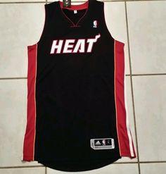 NWT ADIDAS  Miami Heat Away (Black) Authentic Blank NBA Jersey  Mens Large  Tall #adidas #MiamiHeat