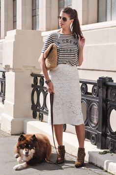 Thankfifi- Lace, leopard & stripes - fashion blogger streetstyle-3