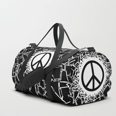 Buy Peacebreaker Duffle Bag by grandeduc. Worldwide shipping available at Society6.com. Just one of millions of high quality products available.