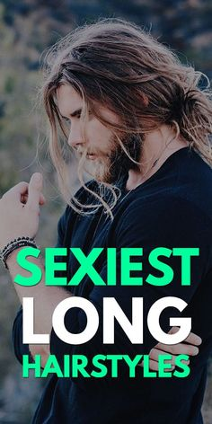 Sexiest Long Hairstyles for Men Cool Hairstyles For Men, Bandana Hairstyles, Haircuts For Men, Weave Hairstyles, Men's Haircuts, Short Hair For Boys, Long Hair With Bangs, Latest Beard Styles, Beautiful Long Hair