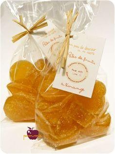 ..Cadeaux gourmands 2011 : Pâtes de fruits à l'orange (à l'agar agar)..