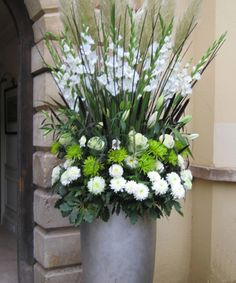 Paula Pryke Floral Artist  West County venue for a 25 wedding anniversary!