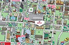 downtown boulder map colorado Pinterest