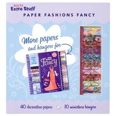 Extra Stuff for Paper Fashions Fancy | Klutz | 174582