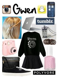 """""""My cuz!"""" by potterhead105 ❤ liked on Polyvore featuring Michael Kors, POLICE, Vans, Essie, Forever 21 and Speck"""