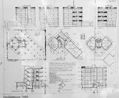 Johanenes (Jan) Duiker | Escuela al aire libre - Open-air school | Amsterdam, Holanda | 1927-1930