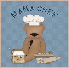 ursinho cozinheiro