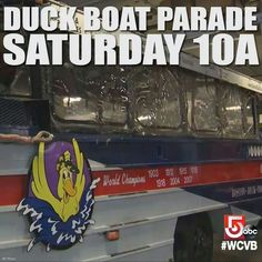 2013 Red Sox World Series Champs 10/30/2013 - Duck Boat Parade coming Saturday!