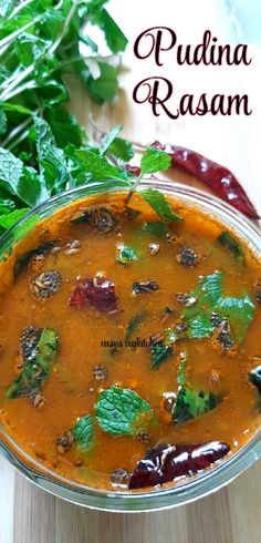 Vasusvegkitchen: Pudina Rasam || Mint Rasam || Pudina charu - how to prepare rasam using mint leaves Coriander Leaves, Curry Leaves, South Indian Rasam Recipe, Dry Container, Fresh Mint Leaves, Steamed Rice, Red Chilli, Recipe Search, Tamarind