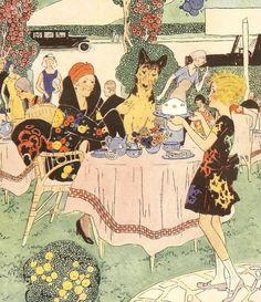 1932 Art Deco Gladys Peto Print Alsatian by printsandpastimes Vintage Book Art, Alsatian, English Artists, Art Deco Period, Fine Dining, Vintage Children, Ephemera, Illustrators, German