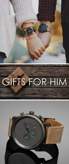 Need a gift for that special gentleman in your life? With plenty of styles to choose from all around $100 with free shipping worldwide we're sure you'll find a watch that will fit his style!
