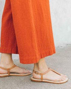 Classic Leather Thong Sandal image