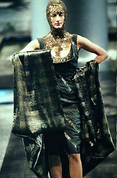 Alexander McQueen for Givenchy Haute Couture SS1998 | Purely Inspiration