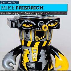 Diseño, toys e ilustración de MIKE FRIEDRICH  Diversidad en propuestas y colorido desde Alemania.    Leer más: http://www.colectivobicicleta.com/2013/03/Diseno-de-toys-de-MIKE-FRIEDRICH.html#ixzz2MhbWItew