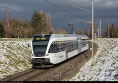 526 705 Thurbo RABe 526 at Lütisburg, Switzerland by Georg Trüb Swiss Railways