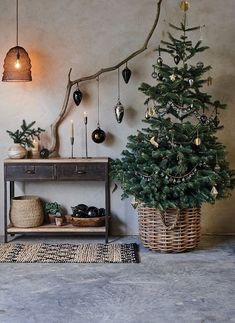 From the table to the tree our exquisite handmade collections promise something unique this Christmas. christmas table Natural Christmas Home Small Christmas Trees, Beautiful Christmas Trees, Noel Christmas, Simple Christmas, Christmas Crafts, Scandinavian Christmas Trees, Natural Christmas Tree, Christmas Wreaths, Christmas Cookies