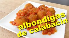 Albondigas de Calabacin