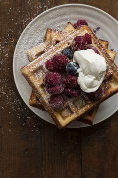 Crunchy Belgia Waffles