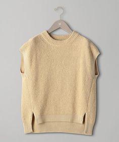 商品詳細 - <unfil(アンフィル)> ノースリーブ ニットプルオーバー|UNITED ARROWS(ユナイテッドアローズ)公式通販 The Unit, Sweaters, Fashion, La Mode, Pullover, Fashion Illustrations, Fashion Models, Shirts