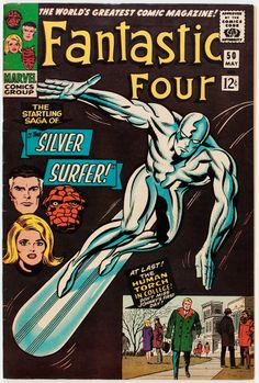 Fantastic Four #50 first appearance of Wyatt Wingfoot