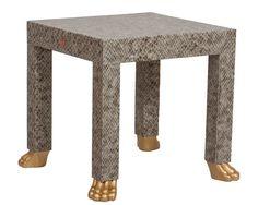 Fantastical feet!! Gold Foot Table No.2 – Society Social