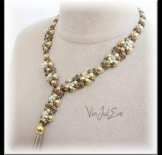 Bead Necklaces - Schéma Collier Thala - a designer piece of Vinjuleve at DaWanda